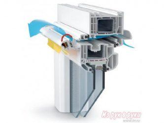 Проветривание пластиковых окон климатический клапан